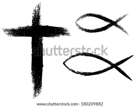 Christian Fish Symbol Download Free Vector Art Stock Graphics