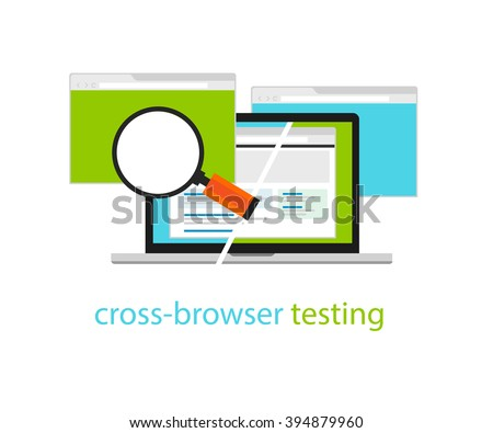 cross browser testing web software development process methodology