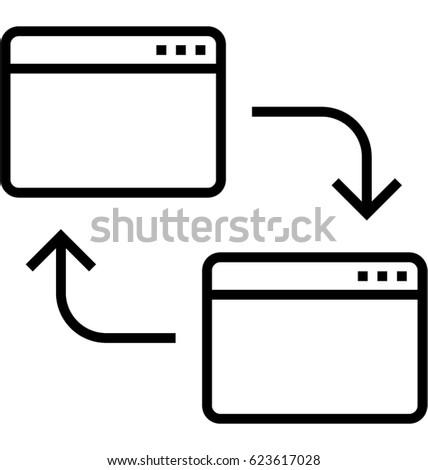 Cross Browsing Testing Vector Icon