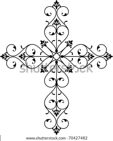 stock vector Cross Design