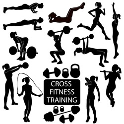 Cross fitness training