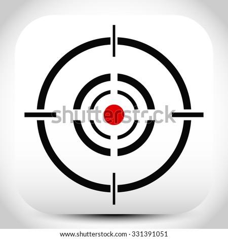 cross hair  reticle  target