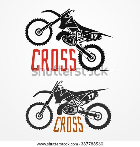 cross motorcycle logo in