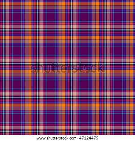 Cross seamless dark tartan pattern (vector EPS 10)