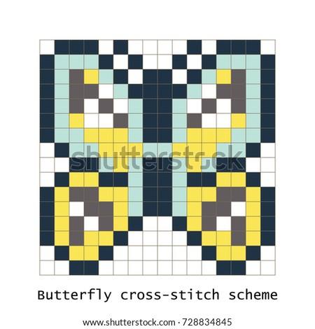 cross stitch pixel art