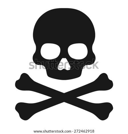 crossbones   death skull