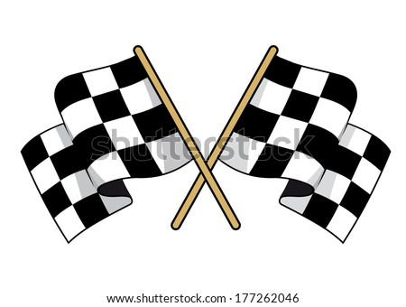 waving racing flag download free vector art stock graphics images rh vecteezy com Checkered Flag Background Waving Checkered Flag