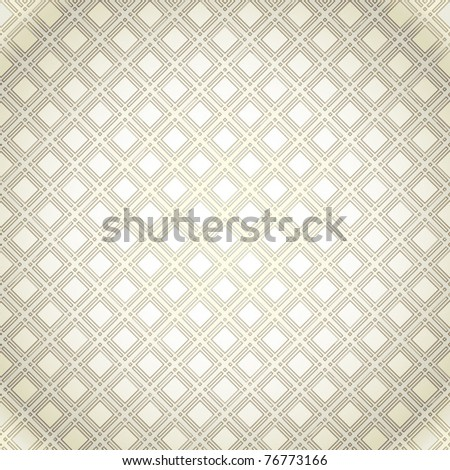 Crossed lines textile seamless pattern. Vector background.