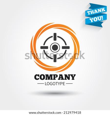 Aim Target Logo Target Aim Symbol