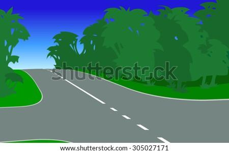 crossroadillustration of