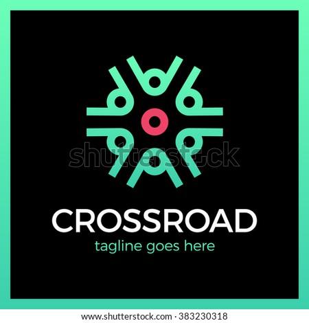 crossroad logo wheel