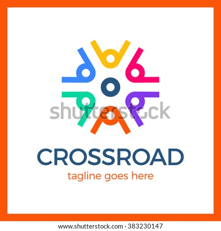 crossroad logo wheel