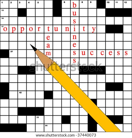 crossword with business terms