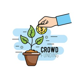 crowdfunding project support business service