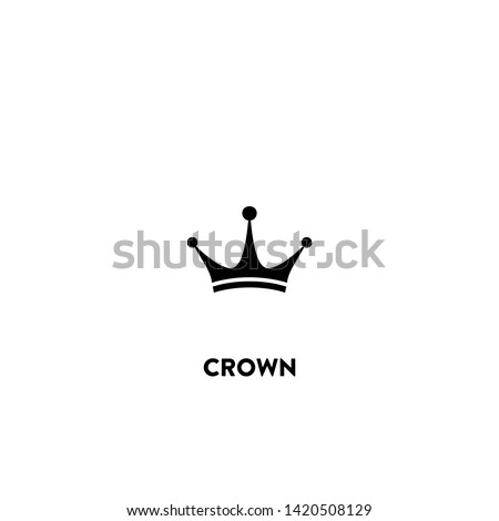 crown icon vector crown sign
