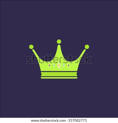 crown icon vector icon
