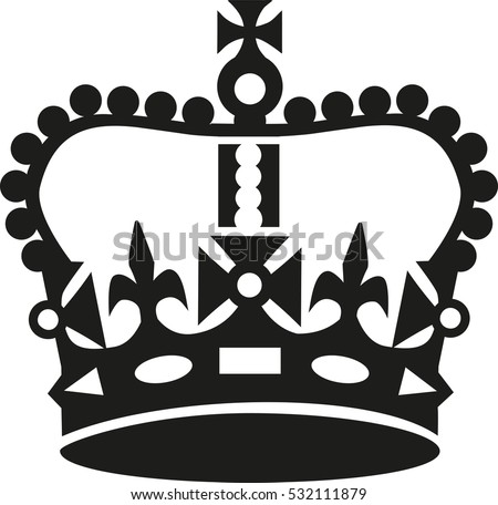 crown in keep calm style