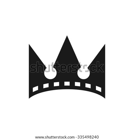 crown of cinema logo template