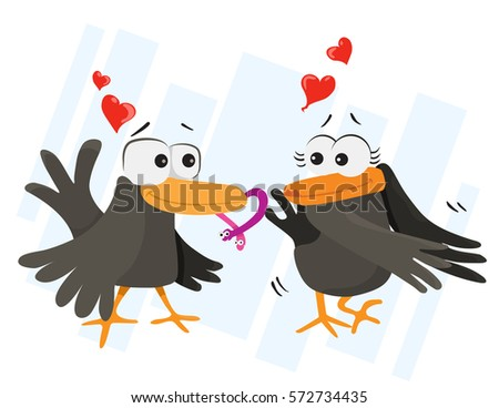 crows in love