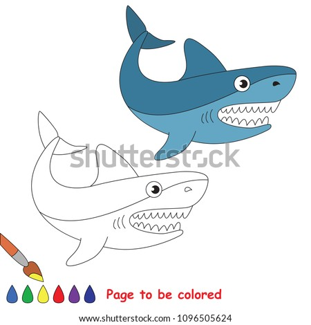 Shark Coloring Pages For Preschoolers At Getdrawings Free Download
