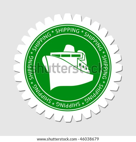 Cruise Sign Shipping Label