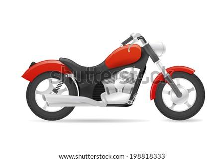 cruiser motorbike realistic