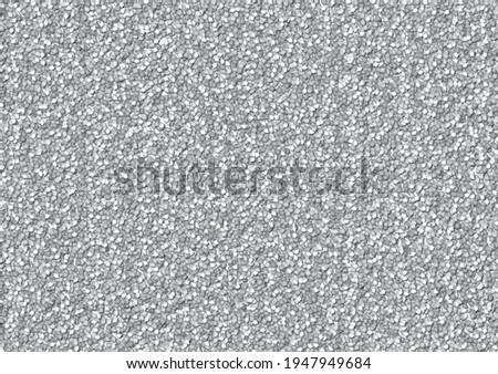 Crushed stone texture seamless pattern Stock foto ©
