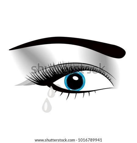 crying beautiful eyes in anime