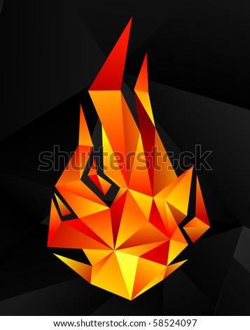 crystal flame