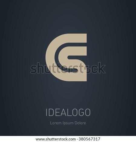 cs initial logo cs initial
