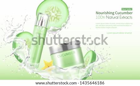 cucumber facial mask whitening