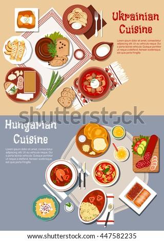 cuisine of ukraine and hungary