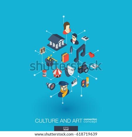 culture  art integrated 3d web