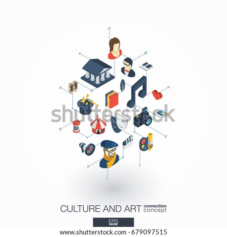 culture  art integrated 3d web