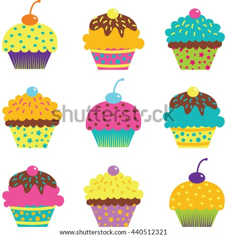 cup cake setbirthday party