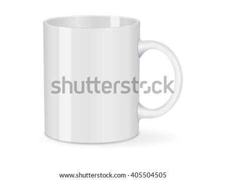 Cup for your logo and design Mock up Vector Template #405504505