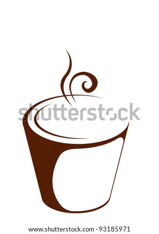 Cup (mug) of hot drink (coffee, tea etc)