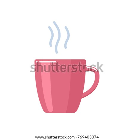 cup of delicious sweet hot tea