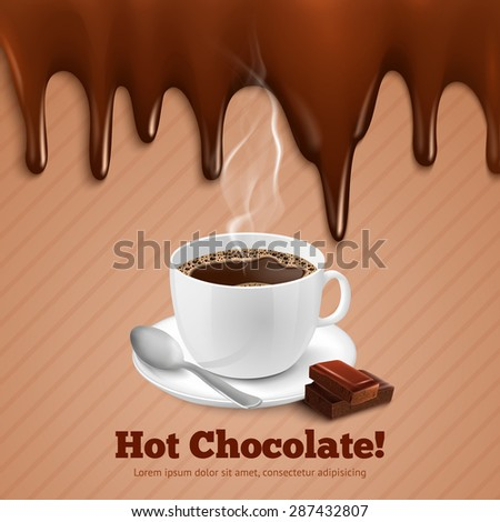 cup of hot coffee with