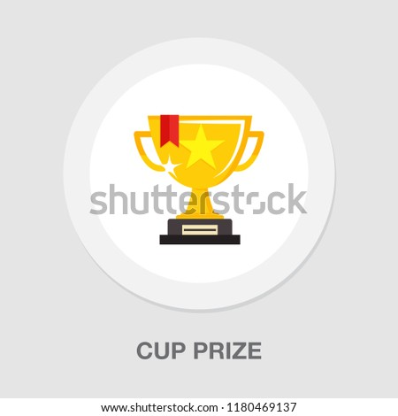 cup prize icon - winner icon - award first place icon