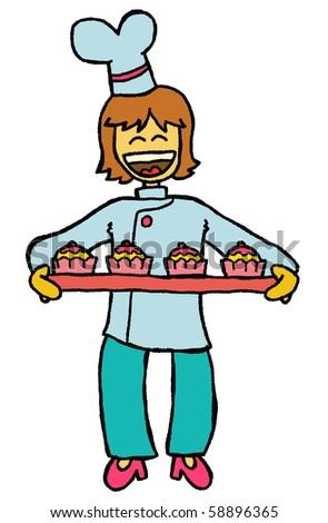 cupcake chef