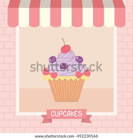 cupcakes cafe shop showcase