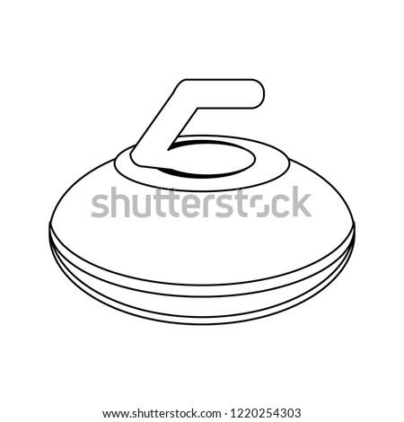 curling stone sport equipment