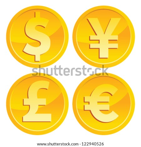 Gold Coin Currency Currency Gold Coins