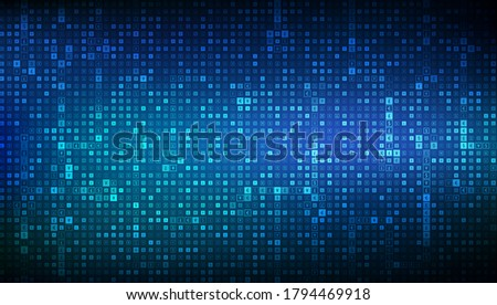 Currency signs background. Dollar, euro, yen and pound icons. Matrix streaming background with currency symbols. Exchange foreign currency pattern. Financial symbols background. Vector illustration.