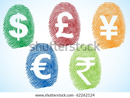 currency symbols vector. stock vector : Currency