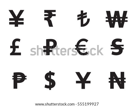 Currency Icons Download Free Vector Art Stock Graphics Images