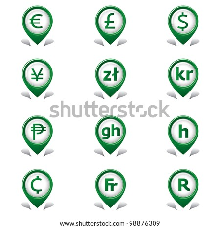 Currency Tab Icons