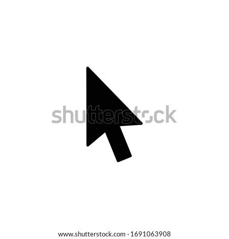Cursor icon, Cursor sign and symbol vector Design