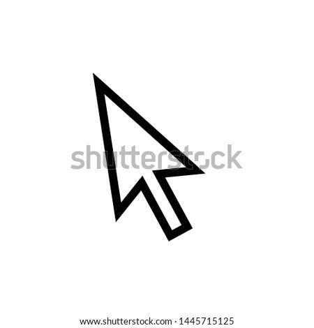 cursor icon vector design